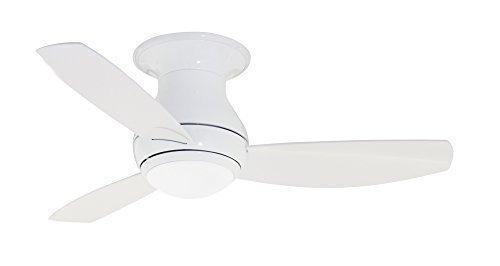 Emerson Ceiling Fans CF144WW Curva Sky Low Profile Ceiling Fan