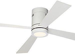 Casa Vieja Revue White - LED Ceiling Fan