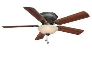 Hampton Bay Adonia Oil-Rubbed Bronze Ceiling Fan