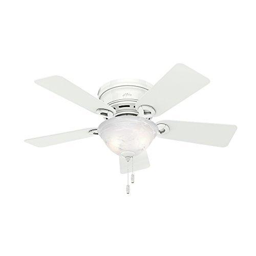 Hunter Fan Company 51022 Conroy 42-Inch Snow White Ceiling Fan