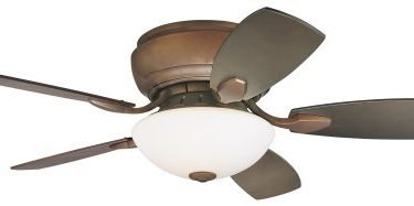 Casa Habitat Oil-Rubbed Bronze Hugger Ceiling Fan
