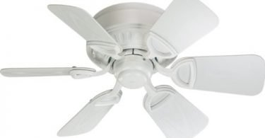 Quorum 151306-8 Medallion Patio Studio White Outdoor Ceiling Fan
