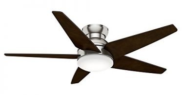 Casablanca 59022 Isotope 52-Inch 5-Blade Single Light Ceiling Fan