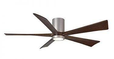 Matthews IR5HLK-BN-60 Irene Brushed Nickel ceiling fan