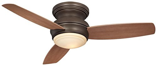 Minka-Aire F593L-ORB Flush Mount ceiling fan