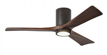 Matthews IR3HLK-TB-52 Irene Textured Bronze with LED Light & Remote