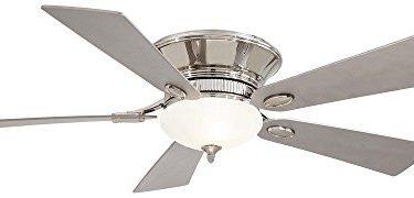 Minka Aire F711-PN Delano Flush Mount Ceiling Fan