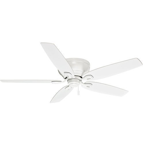 Casablanca 54103 Durant Ceiling Fan with Five Snow White Blades