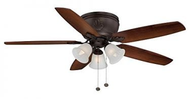 Hampton Bay Chastain Ii Oil Rubbed Bronze Ceiling Fan