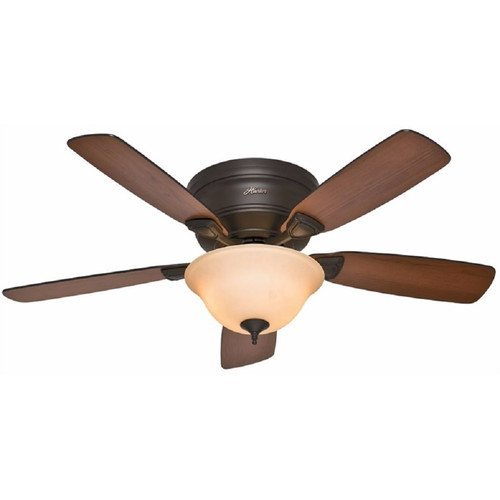 Hunter 52063 Low Profile 48-inch Ceiling Fan with Light Kit