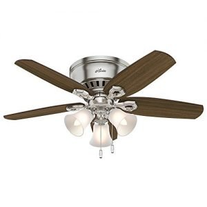 Hunter 51092 42-inch Builder Low Profile Ceiling Fan with Light