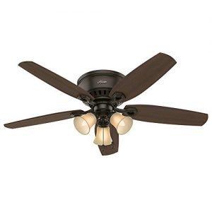 Hunter 53327 52-inch Builder Low Profile New Ceiling Fan