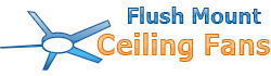 Flush mount ceiling fans Logo