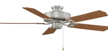 Fanimation BP200SN-220 52-In Aire Decor Builder 5-Blade Ceiling Fan