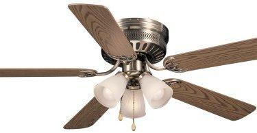 Hardware House 41-5885 Bermuda 52-Inch Flush Mount Ceiling Fan