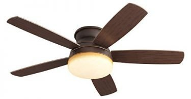 Monte Carlo 5TV52RBD Traverse 52-in Flush Mount Ceiling Fan