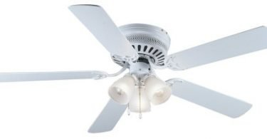 Hardware House 41-5877 Bermuda 52-Inch Flush Mount Ceiling Fan