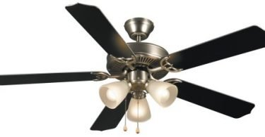 Hardware House 415935 Paladuim Flush-Mount 52Inch 5Blade Ceiling Fan