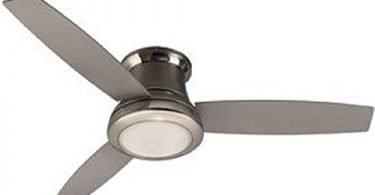 Mazon 44 In Brush Nickel Ceiling Fan With Led Light Kit