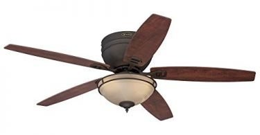 Westinghouse 7209600 Traditional Carolina LED Oil Rubbed Bronze Fan
