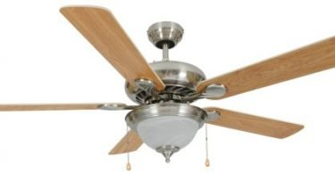 Hardware House 54-3520 Saturn 52-Inch Triple Mount Ceiling Fan Light