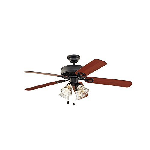 Breeze springfield ii matte black downrod flush mount ceiling fan harbor breeze springfield ii matte black downrod flush mount ceiling fan aloadofball Image collections