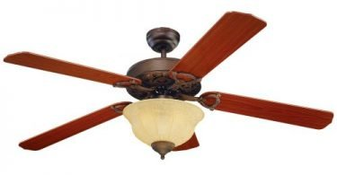 Monte Carlo 5OR52RBD-L Ornate Elite 52-Inch Ceiling Fan