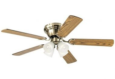 Westinghouse 7216300 Traditional Contempra-IV Antique Brass Indoor Fan
