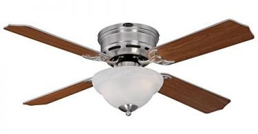 Westinghouse 7212800 Traditional Hadley 42in Brushed Nickel Ceiling Fan