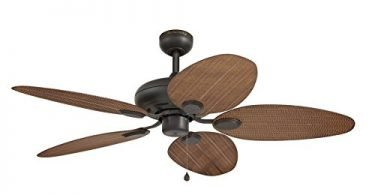 Harbor Breeze 52-in Tilghman Aged Bronze ceiling fan