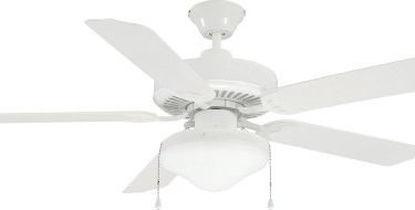 Litex E-WOD52WW5C All Weather Collection Indoor-Outdoor Ceiling Fan