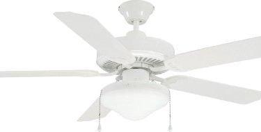 Litex Ut56tbc3m Utility Collection 56 Inch Ceiling Fan