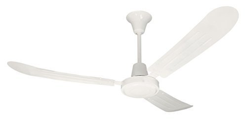 Litex UT56WW3M Utility Collection 56-Inch Ceiling Fan with Wall Control