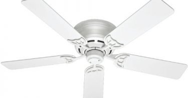 Hunter 53069 Low Profile III 52-Inch Ceiling Fan