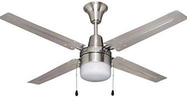 Litex E-UB48BC4C1 Urbana 48-Inch Ceiling Fan
