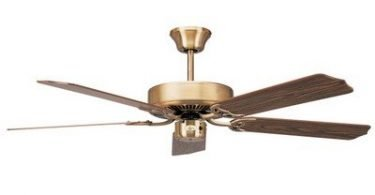 52 inch Indoor Ceiling Fan Blade Set Finish Natural Pine