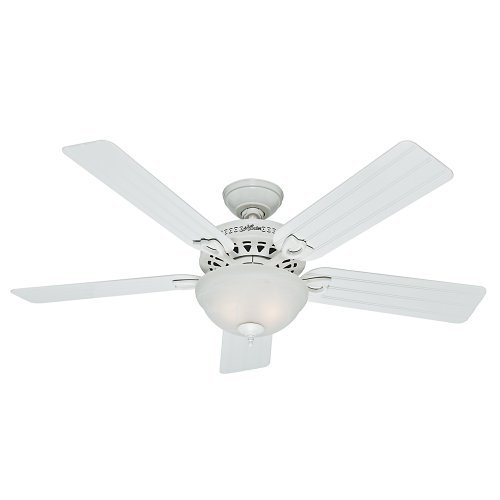 Hunter 53122 Beachcomber 52-Inch White Ceiling Fan