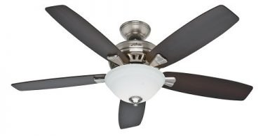 Hunter Fan Company 53175 Banyan 52-Inch Brushed Nickel Ceiling Fan