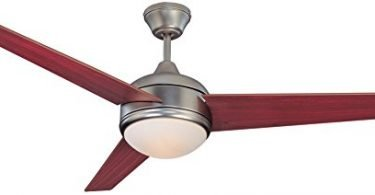 Concord 52SKY3ESN Ceiling Fans with Opal Glass Shades