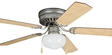 Litex CC52BP5C1 Celeste DELUXE 52-inch Brushed Pewter Ceiling Fan