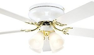 Litex BRC52WB5C Schuster Collection 52-Inch Ceiling Fan