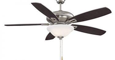Savoy House 52-831-5RV-SN 52-inch Mystique 3-Light Ceiling Fan