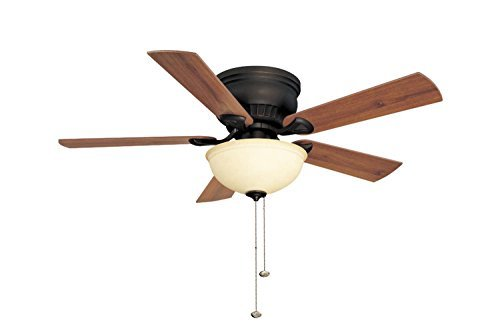 Litex CSU44HRB5C1 Crosley Collection 44-Inch Ceiling Fan
