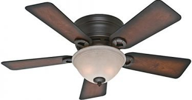 Hunter Fan Company 51023 Conroy 42-Inch Onyx Bengal Ceiling Fan
