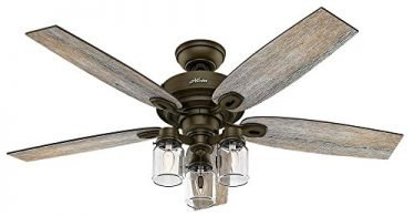 Crown Canyon 52 inch Indoor Regal Bronze Ceiling Fan