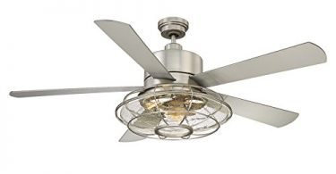 Savoy House 578-5SV-SN Connell 56 inch 5 Blade Ceiling Fan