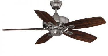 Savoy House 42-830-5RV-187 Wind Star Ceiling Fan Brushed Pewter