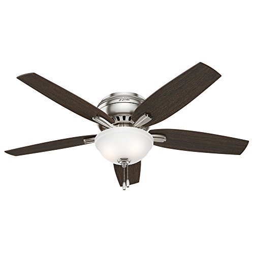 Hunter 53315 Newsome Ceiling Fan with Light 52 inch