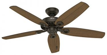 Hunter 53292 52-inch Builder Elite Damp New Ceiling Fan