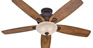 Hunter 60-inch Regalia New Bronze Ceiling Fan with Light